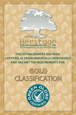 HERITAGE GOLD GREEN GLOBE